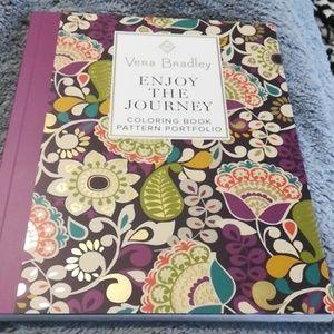 NWOT Vera Bradley Enjoy the Journey Coloring Book